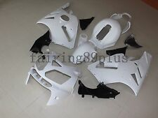 Unpainted White ABS Injection Bodywork Fairing Kit for Kawasaki ZX12R 2002-2005