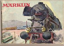 Schöne Märklin Eisenbahn in Spur H0 von 1954  Lok + viele Hänger & Schienen