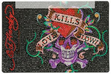 Ed Hardy Icing Love Kills Slowly Medium Netbook Case