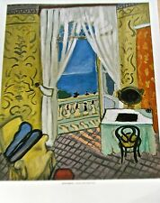 Henri Matisse Poster Interior with a Violin Case-Room with a Ocean View 14x11