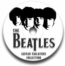 The beatles rock pop guitar tabs tablature song book scolarité logiciel cd