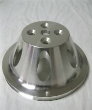 Small Block Chevy SWP Aluminum 1 Single Groove Upper Water Pump Pulley SBC