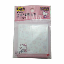 3M Hello Kitty Post-It memo Cute Pads Super Sticky Note/60 Sheets SSN-KT 654 WP
