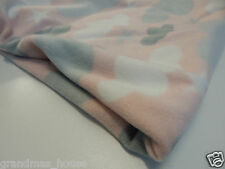 Clouds on Pink Fleece Blanket - Large Size!! Beautiful Gift