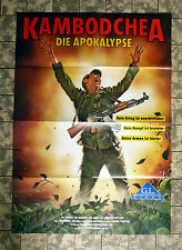 KAMBODCHEA - Die Apokalypse - VIDEO-POSTER A1 - ´87 Kampuchea: The Untold Story