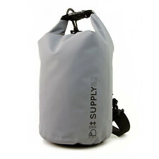 Buhbo Waterproof Dry Bag for Kayaking Gym Canoe Duffle Camping, 5 Liter Gray