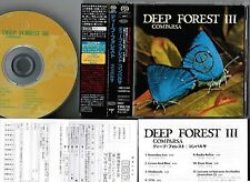 NM! DEEP FOREST Comparsa JAPAN DSD SACD w/OBI+POSTCARD+BOOKLET EIGP-1 Free S&H
