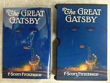 F.Scott Fitzgerald~The Great Gatsby-Very Nice Copy with Custom Slipcase-GREATEST