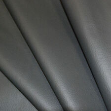Dark Grey SYNTHETIC LEATHER  fabric for furniture, auto upholstery by the metre