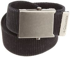 Columbia  Men's Military-Style Belt Black One Size
