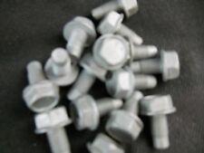 M10 10mm X 1.25  FINE X 13mm THREAD HEX HEAD FLANGE BOLT LOT OF 15 BOLTS