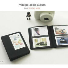 2NUL Photo Album for Fuji Fujifilm INSTAX MINI 50s 7 8s 90 instant film -Black