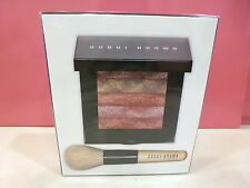NIB Bobbi Brown Shimmer Brick Compact with Brush Set - Lilac Rose  New in Box