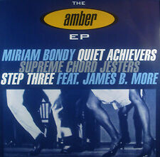 "! 12"" AMBER EP - Miriam Bondy,Quiet Achievers, Supreme Chord Jesters, Step Three"
