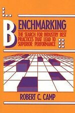 Benchmarking: The Search for Industry Best Practices that Lead to Superior Perf