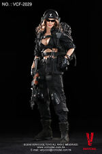 VERYCOOL VCF2029 1:6 ACU Black Woman Shooter Colllectible Figure Model IN STOCK