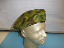 b3947-62  French Indochina Duck Hunter Camo Beret