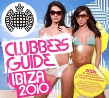 Clubbers Guide Ibiza (SEALED 2xCD) Moby Jason Derulo Pitbull Bodyrox Guetta