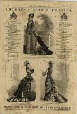 1875 Ahlborn Seasons Dresses Scotch Nobby Frou-frou