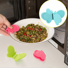 New Lovely Butterfly-Shaped Silicone Anti-Scald Device Kitchen Tool Gadget
