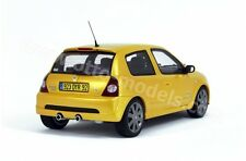 Renault clio 2 rs phase 2 jaune 1/18 otto OT552: UV1 resin model