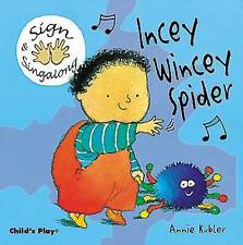 Incey Wincey Spider: BSL (British Sign Language) by Child's Play...