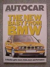 Autocar (30 March 1988) TVR SX350i, Mercedes 300E, MR2, XR4X4, New BMW 3 Series
