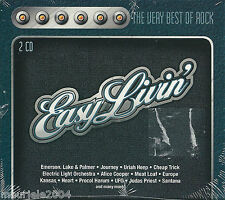 Easy Livin' 3 (2003) 2CD NUOVO Boston. More than a Feeling. Alice Cooper. Poison
