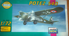 MAQUETA 1/72 KIT AVION POTEZ 540 OFERTA 4X3
