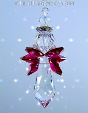 m/w Swarovski Crystal *ANGEL SAMMAEL* Red Wings Sun Catcher Lilli Heart Designs