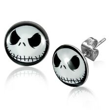 JACK SKELLINGTON Nightmare Before Christmas Stud Earrings - 10 mm (446)