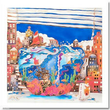 "PERGOLA ""FISHBOWL IN NYC"" SIGNED/NUMBERED GICLEE/CANVAS"