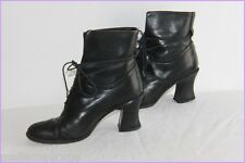 Bottines Boots GUESS Cuir Noir T 37 FR / 4 UK / 5.5 US BE