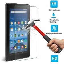 9H Premium Tempered Glass Screen Protector For Amazon Kindle Fire HD 7 2015 USA