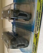 Hot Wheels First Editions 2005 Ford Shelby Cobra Concept 001 VARIATION Lot of 2