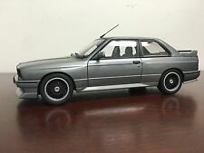 New 1/18 Autoart 1989 BMW E30 M3 Evolution Cecotto Silver Grey
