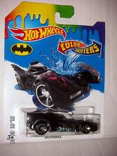 HOT WHEELS 2016  BATMAN  Batmobile  COLOR  SHIFTERS  1:64  HARD TO FIND