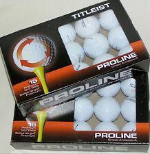 30 Titleist Velocity golf balls AAAAA