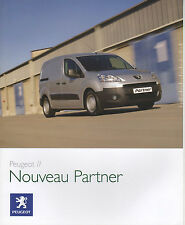 Catalogue Peugeot PARTNER de 2008