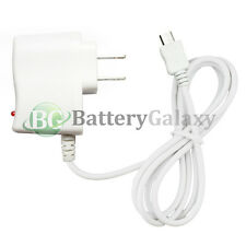 White Micro USB Travel Battery Wall AC Charger for LG Phoenix K3 K4 K7 K8 K10