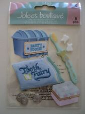 EK SUCCESS JOLEE'S BOUTIQUE BABY'S 1ST TOOTH DIMENSIONAL STICKERS BNIP