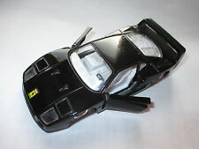 Ferrari F 40 f40 in schwarz nero noir negro black, pullback, MC TOY 1:39   1:43!