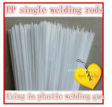 Home repair high-purity polypropylene plastic rod white PP welding rods 40pc/lot