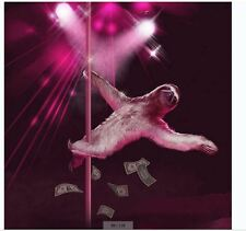 sloth-pole dancing-Fabric Bathroom Shower Curtain Liner-waterproof-180*180cm-