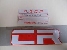 NOS OEM Honda Side Cover Emblem 1982 CR125 CR250 CR480 CR80  87203-KA4-700