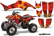 AMR Racing Honda TRX 400 EX Graphic Kit Wrap Quad Decal ATV 1999-2007 MELTDOWN Y