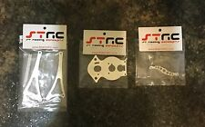 Strc Hpi Wheely King And Crawler King Upgrades (silver)