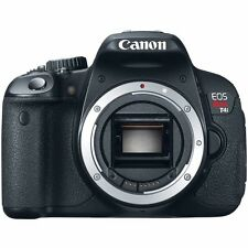 Canon EOS Rebel T4i / EOS 650D 18.0MP Digital SLR Camera - Black body only.