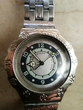 """orologio swatch IRONY SCUBA modello """"GREEN CORAL"""" YDS 101  anno 1995 USATO"""