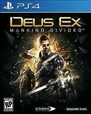 Deus Ex: Mankind Divided -- Download deluxe  (Sony PlayStation 4)